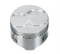 Trick Flow® Forged Flat Top Pistons - 5.0L/302/351W +.030 -Twisted Wedge® Heads