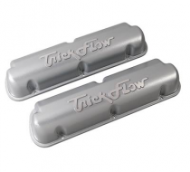 Trick Flow® Cast Aluminum Silver Valve Covers 5.0/5.8L