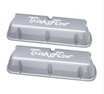 Trick Flow® Tall Cast Aluminum Silver Valve Covers 5.0/5.8L