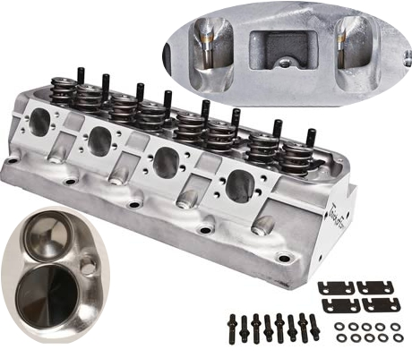 Total Engine Airflow TEA CNC Porting Aluminum Cylinder Heads Custom
