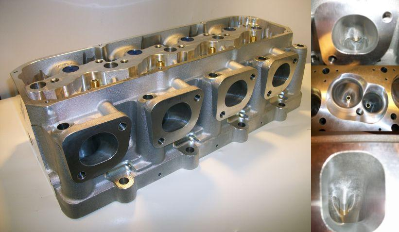 Total Engine Airflow | CNC Ported Cylinder Heads | Ford - Cleveland